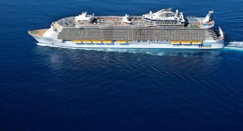Allure of the seas. Zobacz statek!