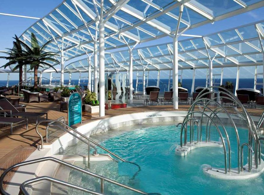 Solarium na Allure Of The Seas